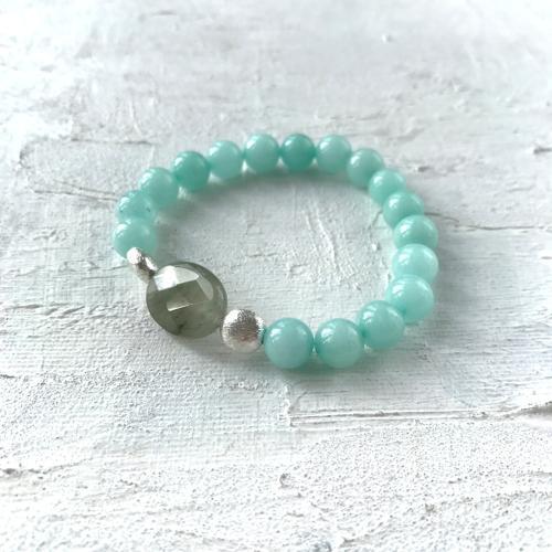 Annie bracelet blue/grey