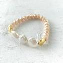 Annie bracelet blush/pearl - picture 1