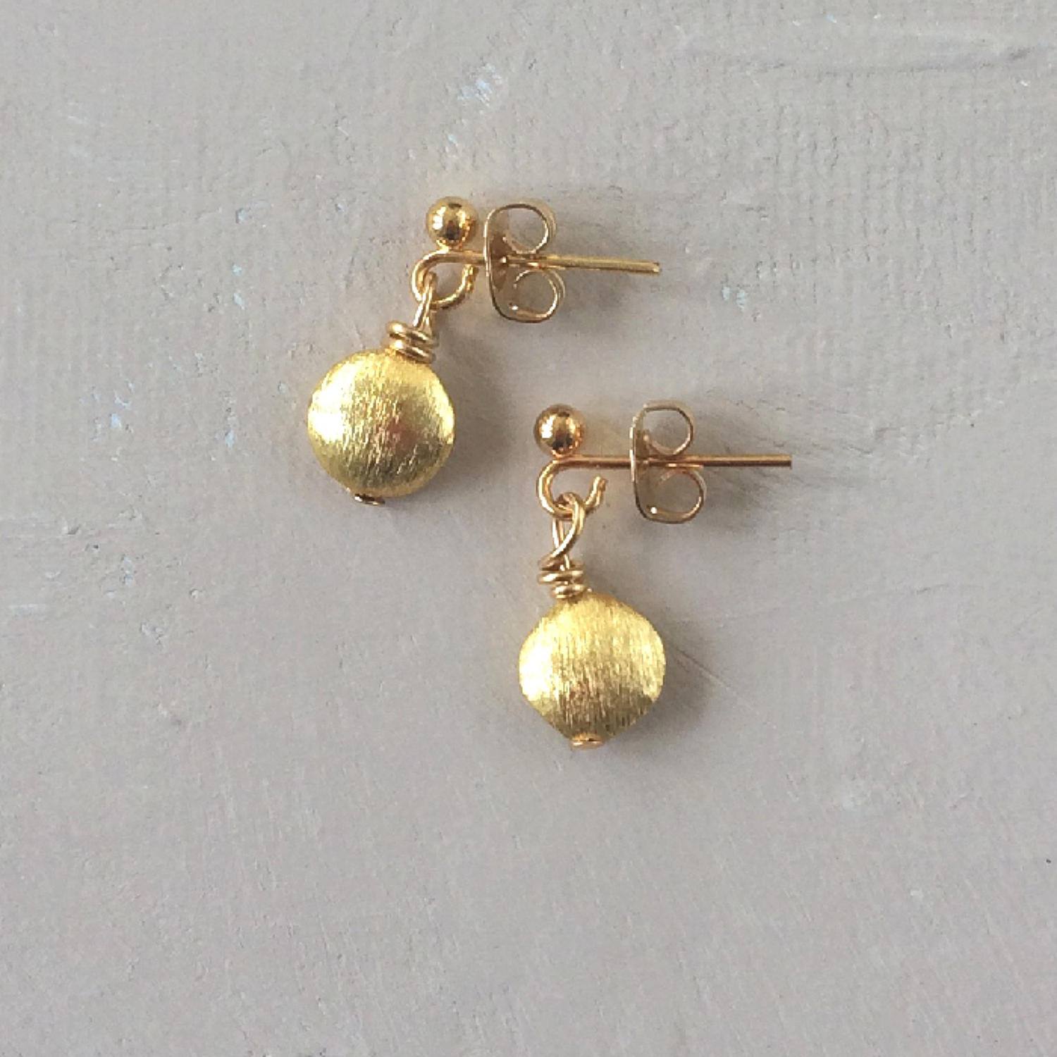 Nugget bud earrings