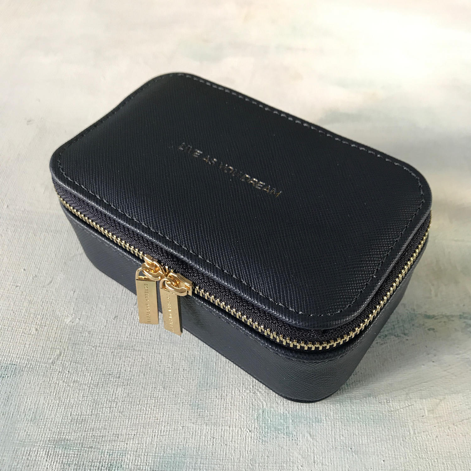 Jewellery case Navy