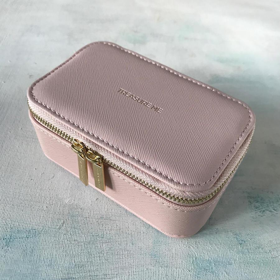 Jewellery case Pink