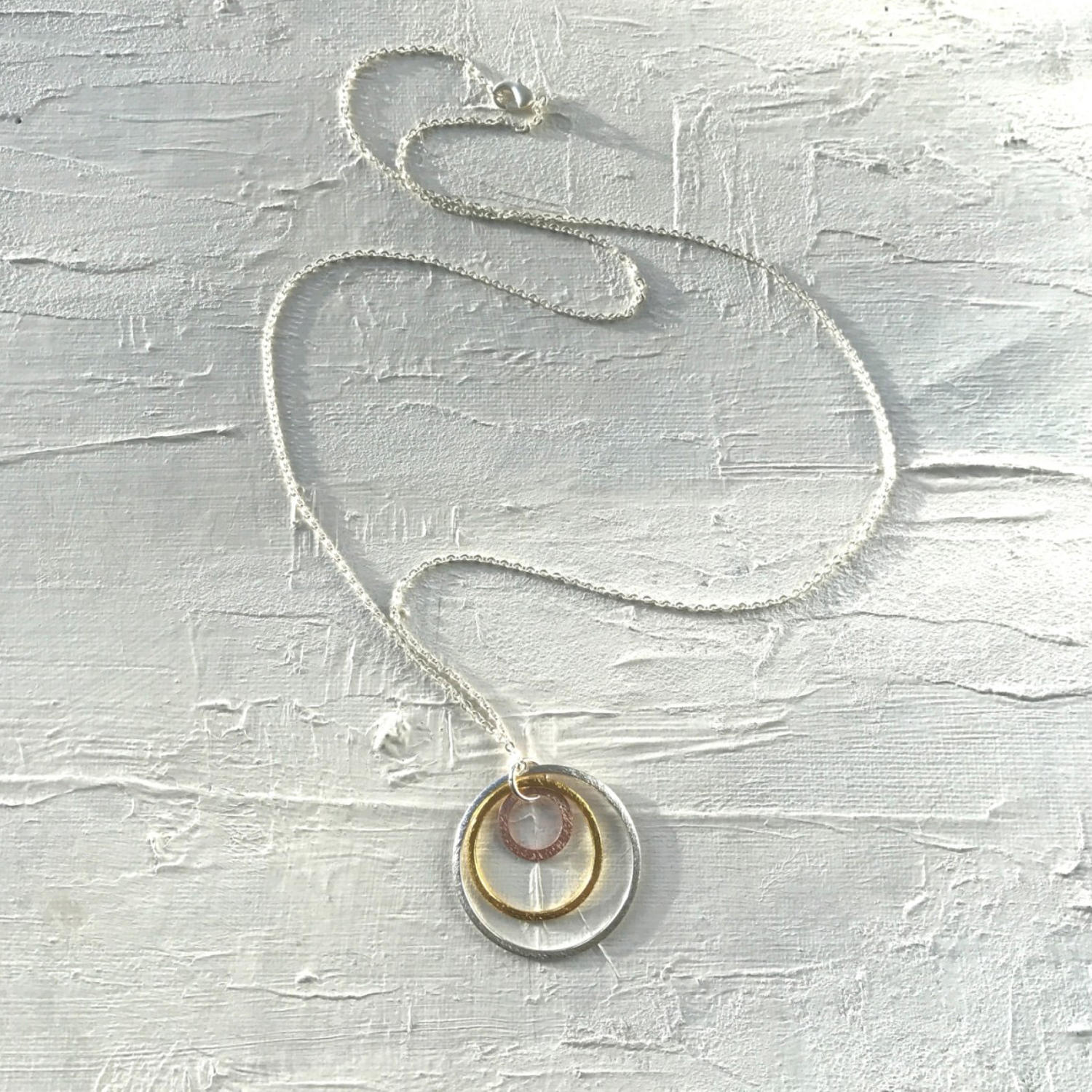 Large solar  necklace