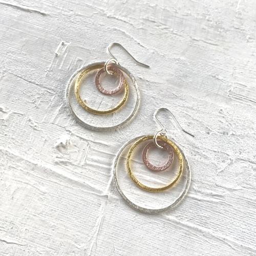 Solar XL earrings