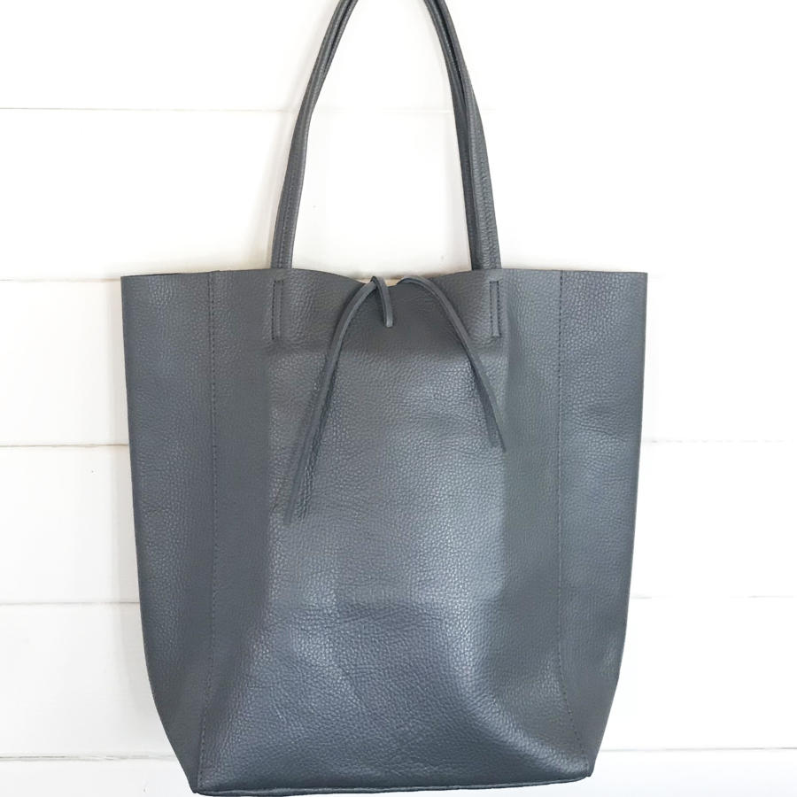 Tote bag grey