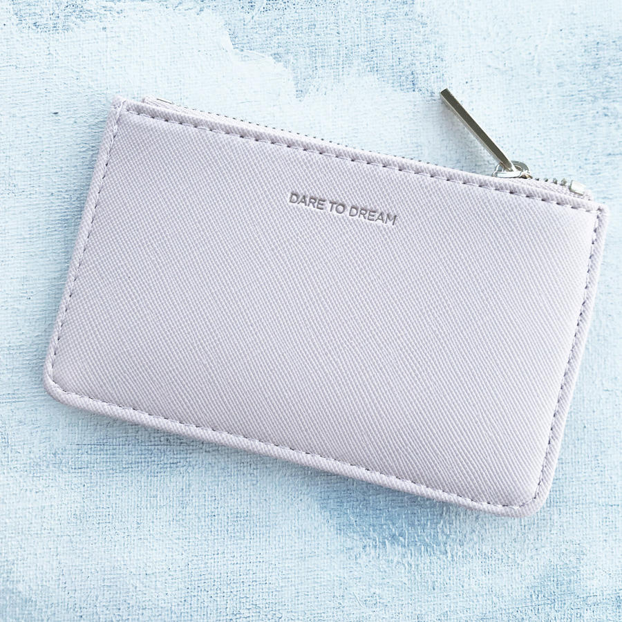 Card purse blush