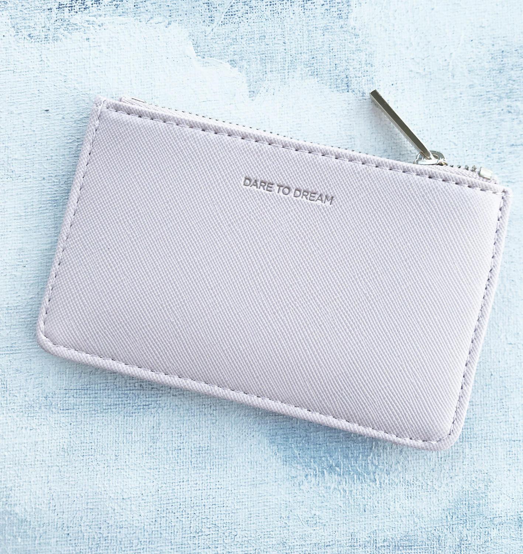 Card purse blush