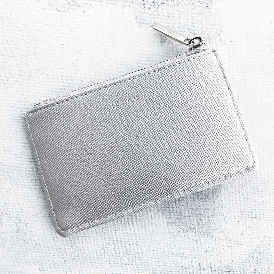 Card purse silver