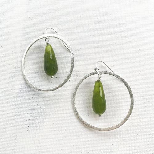 Meghan earrings forest