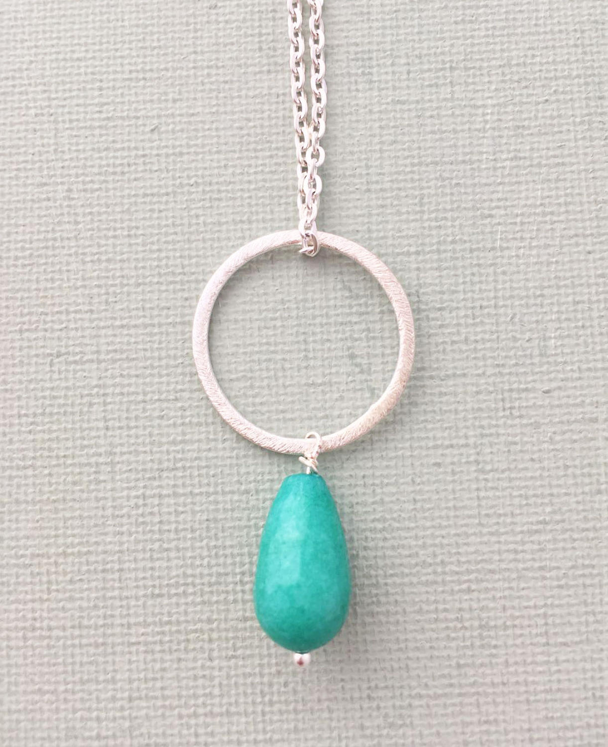 Lydia necklace L teal