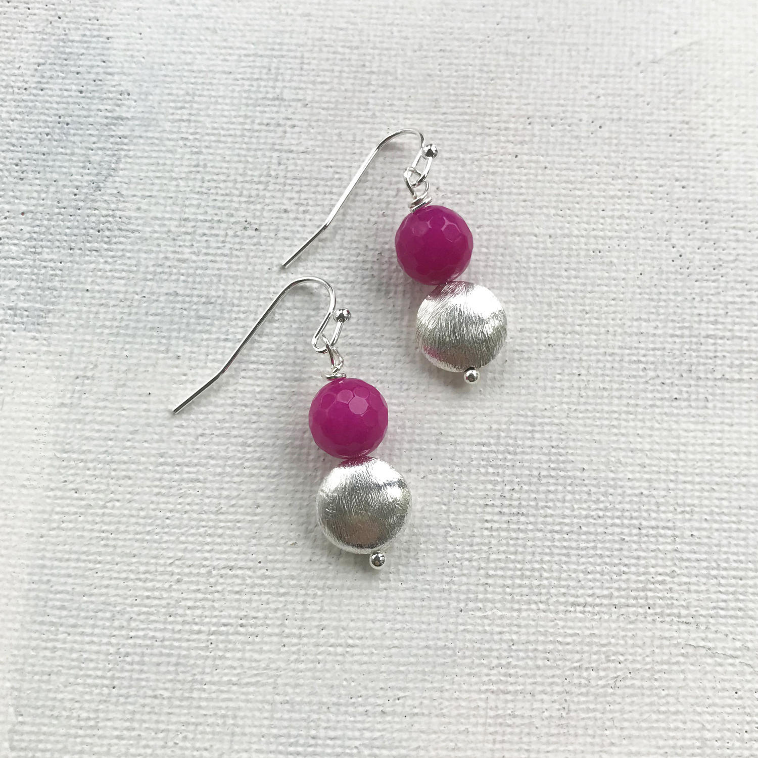Sally earrings pink