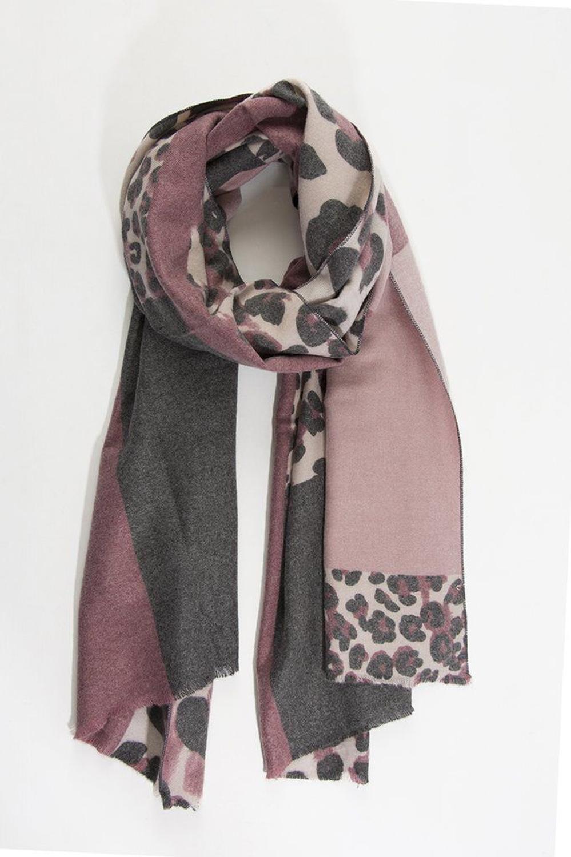 Blanket scarf pink