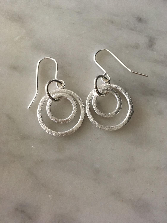 Solar small rings earrings