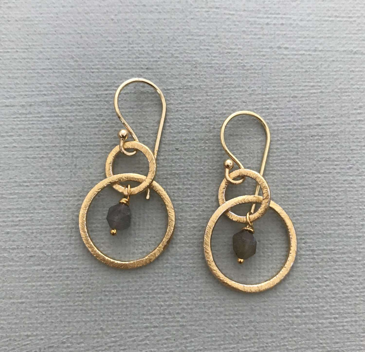 Lesley earrings gold