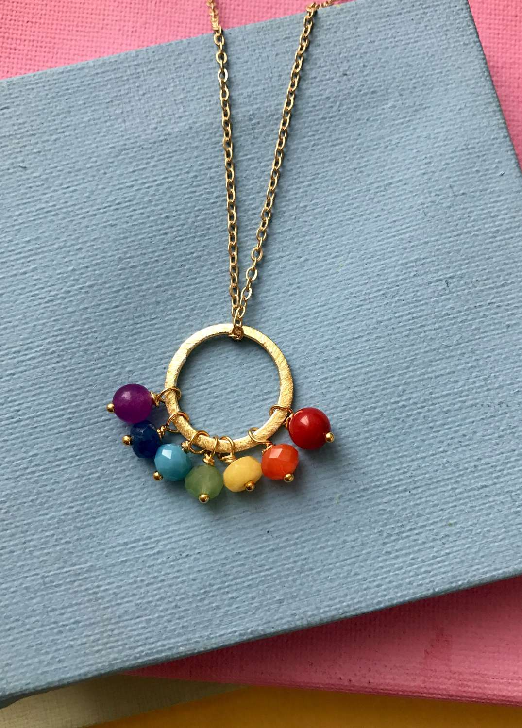Rainbow Song necklace