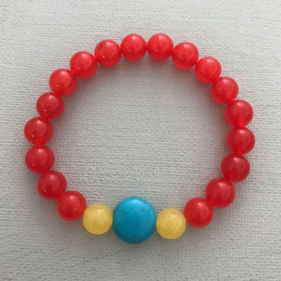 Annie bracelet in orange
