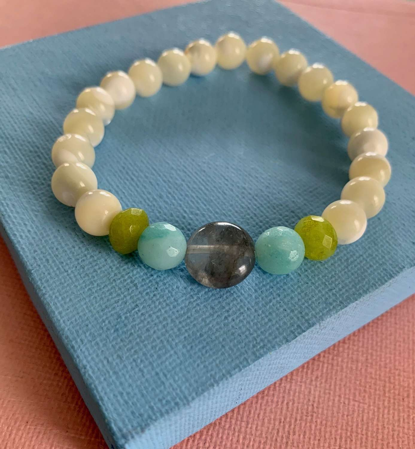 Mother of Pearl Annie bracelet