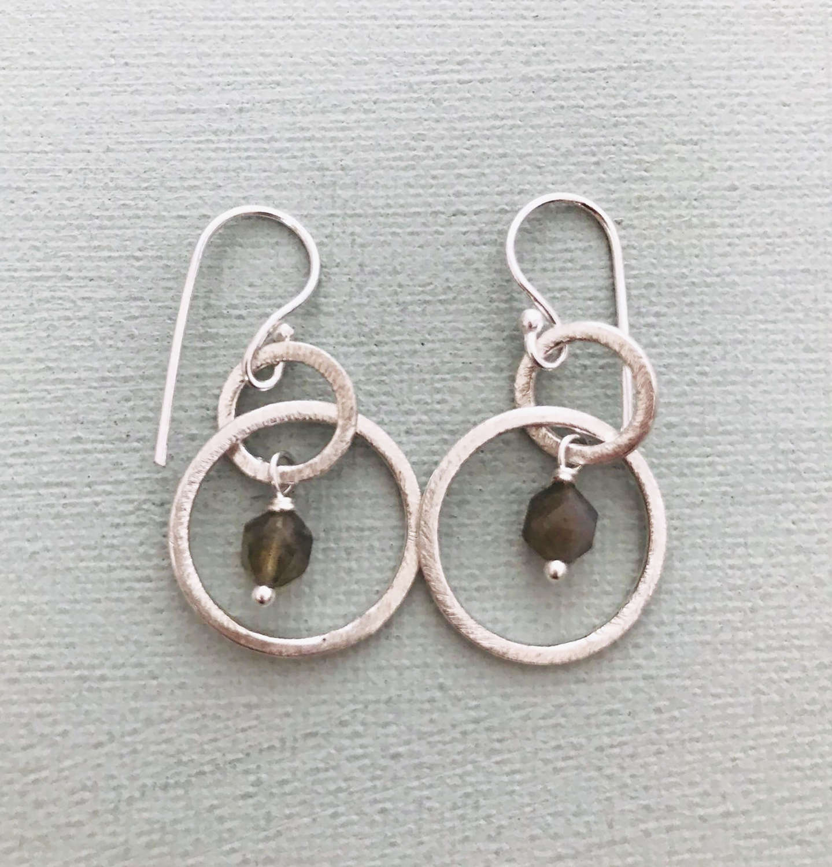 Lesley earrings silver