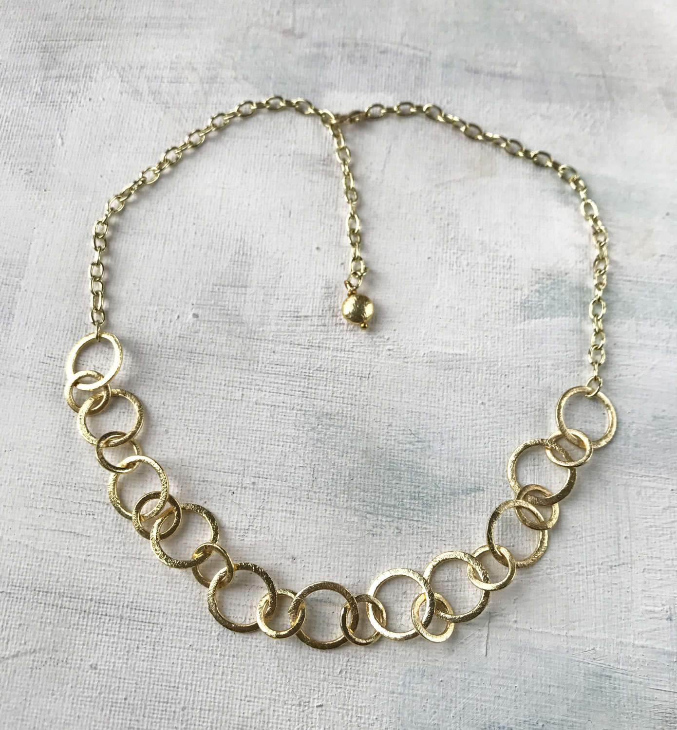 Claudia simple necklace gold