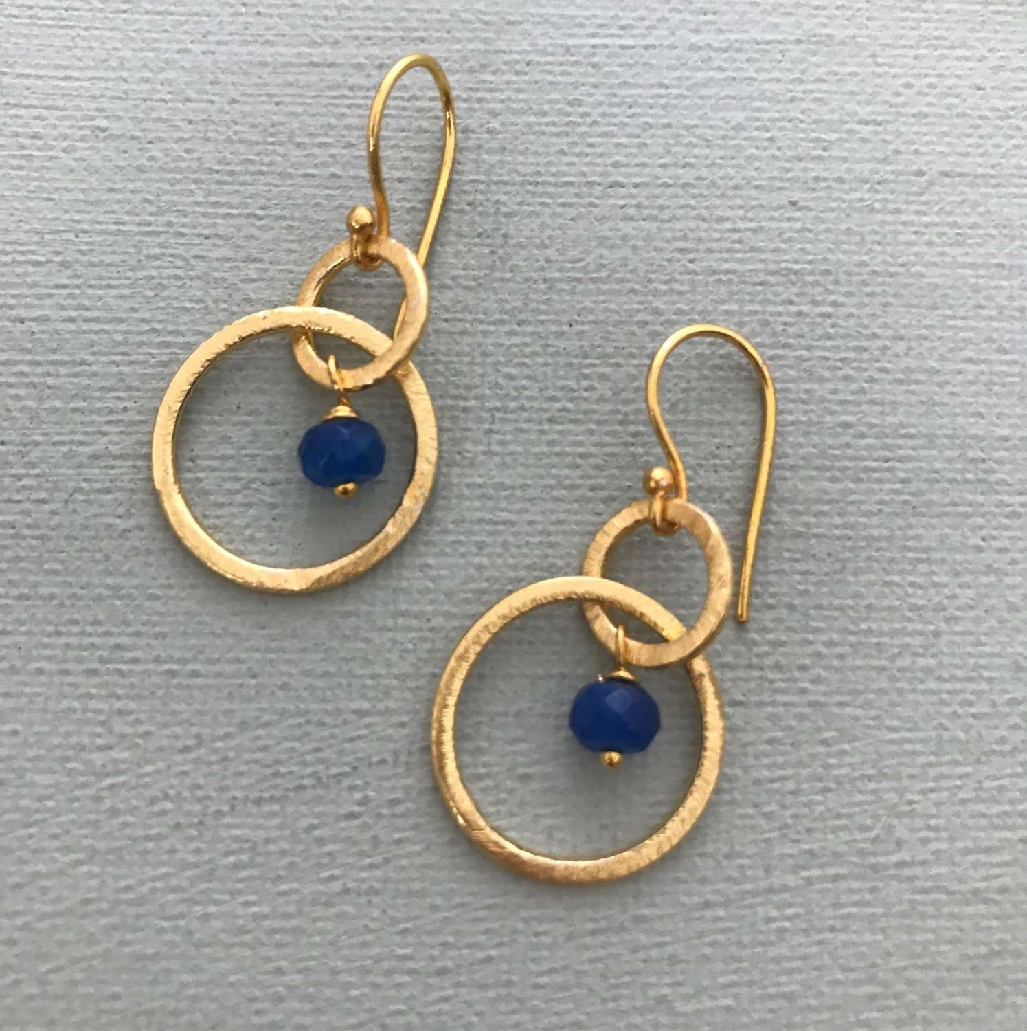 Lesley earrings- navy