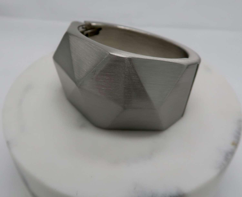 Statement cube bracelet