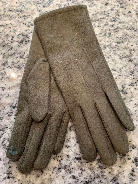 Olive gloves