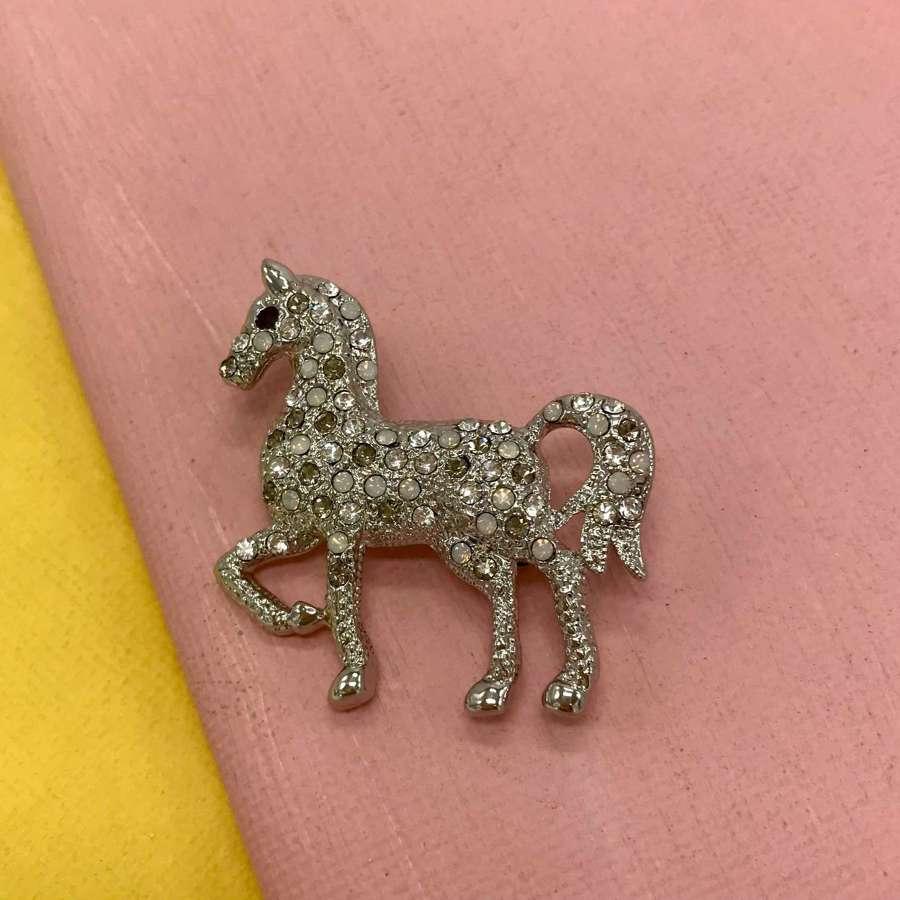 Horse brooch