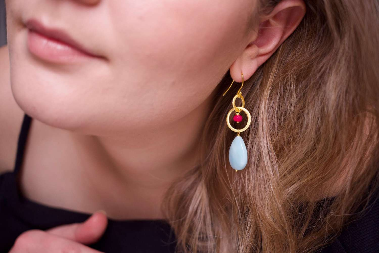 Lesley drop earrings