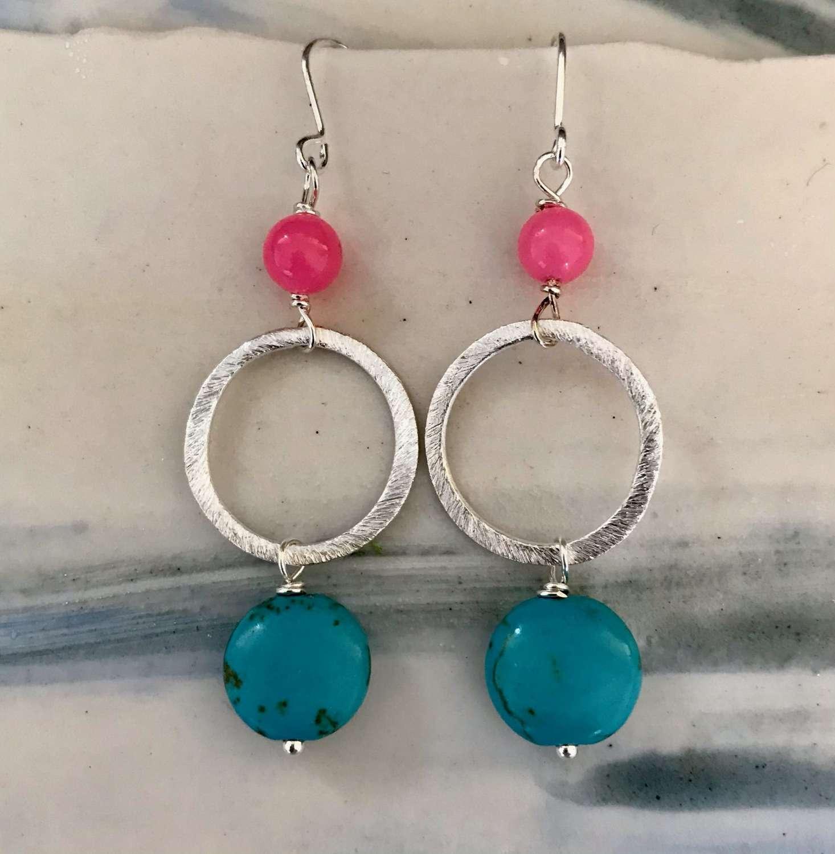 Lottie earrings - candy