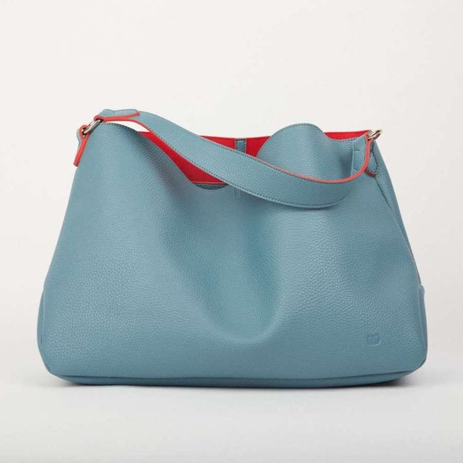 Slouch bag teal