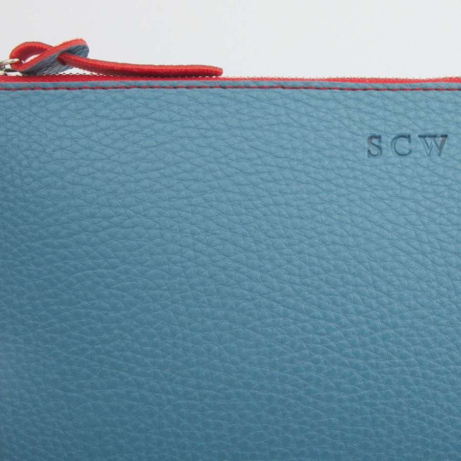 Large pouch - teal